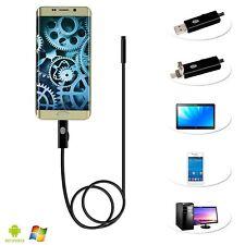 5.5mm 6LED 5M HD Android handy Endoskop IP67 Wasserfest USB Fedex