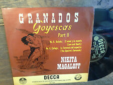 Granados Goyescas Part II Nikita Magaloff  Medium Play vinyle Decca LW 5179