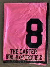 WORLD OF TROUBLE WINNING CARTER SADDLE CLOTH