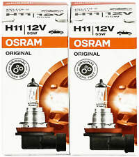 2x H11 headlight bulbs kit car bulb light halogen lamp Osram 64211 12V globes
