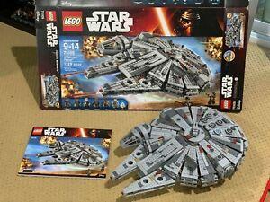 LEGO 75105 Force Awakens Millennium Falcon 100% complete