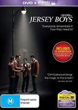 Jersey Boys (DVD, 2-Disc + ULTRAVIOLET) REGION-4, NEW, FREE POST IN AUSTRALIA