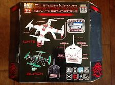 World Tech Toys 2.4GHz 4.5 Ch Supernova SPY Quad-Drone Camera Remote Control
