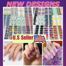Color Nail Polish Strips Buy 4 Get 3 FREE U.S Seller Ombre Manicure Pedicure