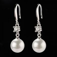925 Silber Ohrringe mit 3 mm Cubic Zirconia E000114