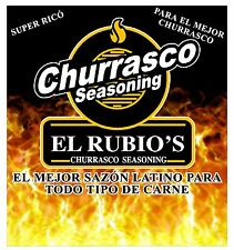 El Rubio's Churrasco Seasoning