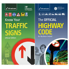 DVSA OFFICIAL HIGHWAY CODE 2017/18 NORTHERN IRELAND & KNOW YOUR TRAFFIC SIGNS