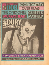 MAGAZINE OOR 1979 nr. 15  - ONLY ONES / MINNY RIPERTON / CURTIS MAYFIELD