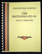 National NC-88 NC88 Radio Receiver Manual