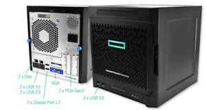 HPE Proliant MicroServer Gen 10 AMD X3421 24GB DDR4 RAM 12TB Storage