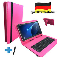 German Keyboard Case - Sony Xperia Z2 - 10.1 inch Tablet Case Qwertz Pink