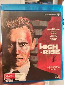 High-Rise (2015) - Limited Edition Alternative Artwork rare Blu-Ray Region B