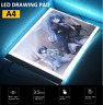 A4 LED Tracing Light Drawing Board Art Tattoo Copy Box Pad Table Stencil Display