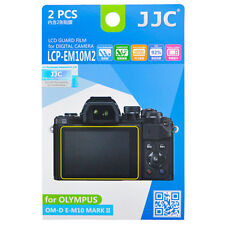 2x Film LCD Screen Display H3 Hard Protection for Olympus OM-D E-M10 Mark II
