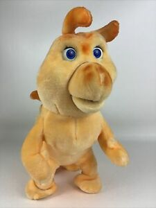 Talking Grubby Teddy Ruxpin Plush Toy World of Wonders Vintage 1985 Tested 80s