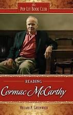 Lectura de Cormac McCarthy por Willard P. Greenwood (tapa Dura, 2009)