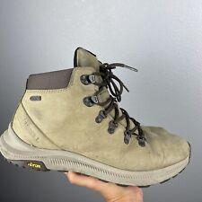 Merrell Mens Ontario Mid Waterproof Vibram Hiking Shoe  Olive 11 J84907