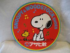vintage Japanese SNOOPY & WOODSTOCK shoes store display Japan PEANUTS Schulz HTF