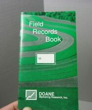 Farmers Pocket Memo Advertising Doane Marketing Agriculture Vintage Book Farm