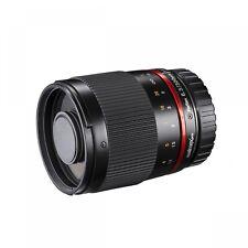 Walimex PRO 300 mm / 6,3 Spiegeltele Objektiv für MFT Neuware schwarz + POL