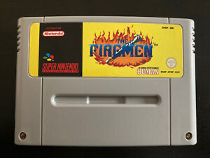 The Firemen Super Nintendo/SNES PAL Loose 100% Original