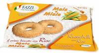 12 x Fazzi biscotti Rustichelle Mais e Milele con RISO