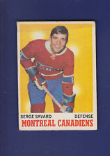 Serge Savard HOF 1970-71 O-PEE-CHEE Hockey #51 (FAIR) Montreal Canadiens