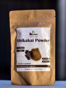 100 gram Natural Shikakai Powder for Hair Care - Kvaas