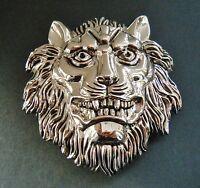 Lion Head Roman King Jungle Animal Belt Buckle Buckles Boucle De Ceinture
