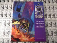 Batman Bride of the Demon (1990) DC - Graphic Novel, 1st Print, Mike Barr, NM-
