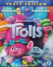 Trolls Blu-ray 2016 - DVD X5vg The Cheap Fast Post