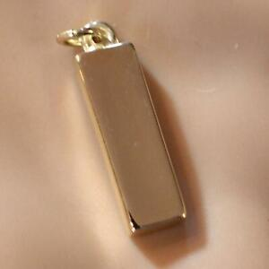 9ct GOLD new large plain solid ingot
