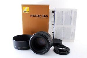 Nikon AF-S Nikkor 50mm f/1.4 G Lens w/Hood, Box FedEx From Japan [Near Mint]