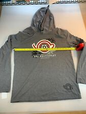 District Made Vo2 Multisport Casual Triathlon Hooded T Shirt Medium M (6560-1)