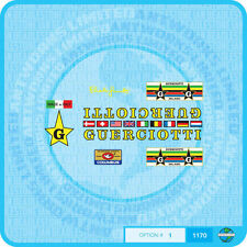 Guerciotti - Bicycle Decals Transfers Stickers - Set 1