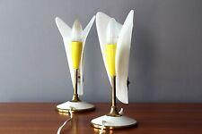 Mid Century Design 50's Table Lamps Tischlampen Leuchten Sputnik Stilnovo ära