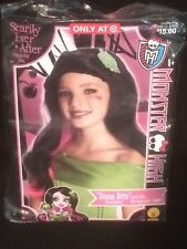MONSTER HIGH SCARLY EVER AFTER SNOW BITE DRACULAURA CHILDS WIG COSTUME