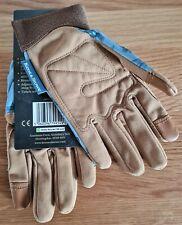 Kent & Stowe Premium Comfort Gloves Ladies Size Medium M Blue Flutter Bugs *NEW*