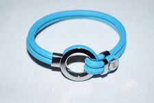 Genuine Porsche Design Men's Women's Bracelet Blue Leather