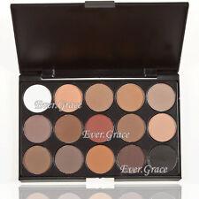 15 Earth Color Makeup Matte Eye Shadow Palette Matt Eyeshadow Warm Nude Cosmetic