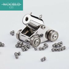 Woobud Pocket Artillery Mini Cannon Military Model Kits Miniature Metal Scale ,