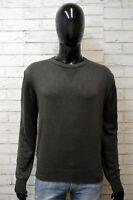 MARLBORO CLASSICS Uomo Maglione XL Pullover Cardigan Maglia Sweater Elastico