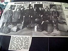68-1  ephemera 1967 picture chatham house grammar school ramsgate german trip