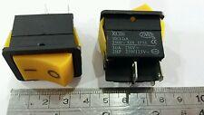 4 Pin ON/OFF 2 Position DPST Rocker Switch 30A/250V KCD2 2hp 250v/125v