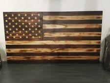 Wood American Flag, rustic, custom flag
