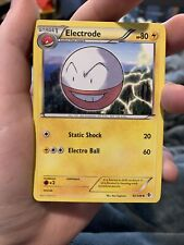 ELECTRODE UNCOMMON POKÉMON CARD - BLACK&WHITE BOUNDARIES CROSSED 52/149