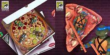 SDCC 2019 SUPER 7 REACTION TEENAGE MUTANT NINJA TURTLES 4 PACK PIZZA BOX FIGURES