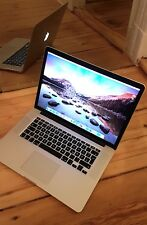 """Apple MacBook Pro Retina 15"""" late 2013, i7 CPU 2 GHz, 8gb di RAM, SSD 256gb"""
