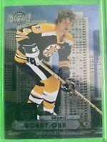 2013-14 Fleer Metal Universe #MU-1 Bobby Orr Boston Bruins Legend