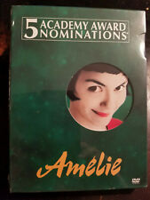 Amelie (Dvd, 2002, 2-Disc Set, Special Edition) New/Sealed